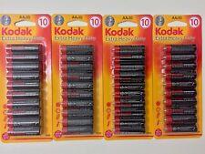 AA batteries X 40 Kodak Extra Heavy Duty For Toy Camera Torch Expiry 2020 New
