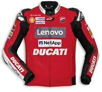 DUCATI Alpinestars Replica Moto GP TEAM 20 LederJacke LeatherJacket LIMITED 2021