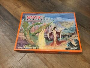 Mystic Series Two Sided Jigsaw Puzzle 513 piece 1991 Buffalo Games Elusive Power