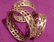 925 Silver Scarf Ring