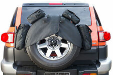 4WD Rear Door Spare Wheel Cover Storage Bag 4x4 FJ Patrol Prado Landcruiser