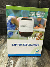 Smart-i - Security Outdoor Solar Siren Dummy Mount Set Detect Monitor Alert
