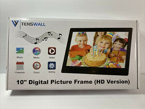 """Digital Picture Photo Frame Tenswall 10"""" HD Version New"""