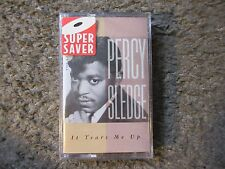 "PERCY SLEDGE ""IT TEARS ME UP-THE BEST OF"" 1992 2TRX.STILL SEALED OOP CASSETTE"