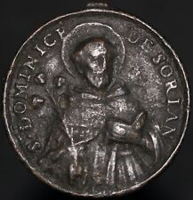 More details for st. dominic of soriano italian religious medal | medals | km coins