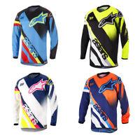 Star Racing Bike Jersey Men's Motocross/MX/ATV/BMX/MTB Dirt Bike Adult Shirt Top