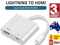 Digital AV Adapter to HDMI Cable for Apple iPhone 7 8 X 11 12 iPad ALL iOS 13 14