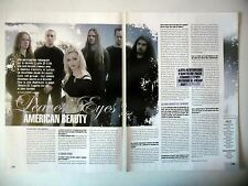 COUPURE DE PRESSE-CLIPPING :  LEAVES EYES [2pages]2005 Liv Kristine,Vinland Saga