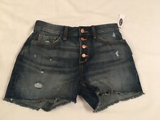 Old Navy Jean Shorts NWT Size 16 Adjustable Waist High Rise