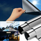 One Way Mirror Window Film Heat UV Reflective Privacy Tint Foil For Home Office
