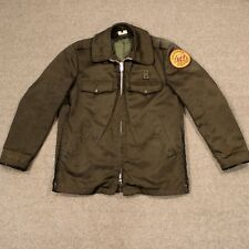 OBSOLETE VTG 30s 40s CA State Park System Jacket Satin Ranger L XL Horace Small