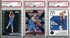 Absolute Mystery Pack Patch Auto Cards Luka Doncic Silver Prizm Rookie PSA 10