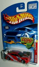 Hot Wheels 2002 #066 Tuners Series #4 of 4 Toyota Celica Red Modern WSPs 54360