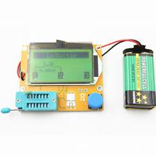 LCRT4 LCD 12864 Mega328 Transistor Tester Diode Triode Capacitance ESR LCR Meter
