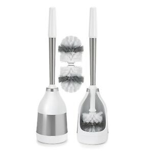 Polder 2-Pack Toilet Brush with Caddy