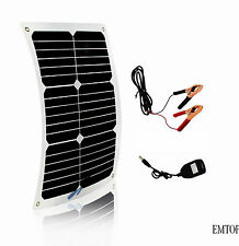 20W Solar Power Module Panel 12v Battery Charger usb  Marine Boat Yacht System