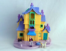 POLLY POCKET Tiny Collection Disney THE ARISTOCATS Playset Figures SCAT CAT PAD