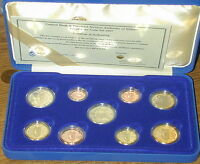 IRELAND OFFICIAL TREATY OF ROME PROOF EURO COIN SET 2007. UNCIRCULATED