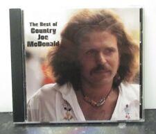 COUNTRY JOE McDONALD ~ Best Of - Vanguard Years 1969-1975 ~ CD ALBUM - USA PRESS