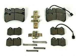 Maserati Ghibli & Quattroporte SQ4 Front & Rear Brake Pads - High Quality