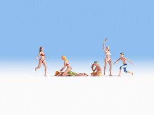 HO Scale people - 15842 - Bathers
