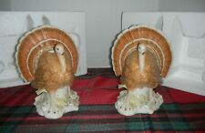 Lenox 2 Turkey Candle Holders From 2003