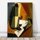 "JUAN GRIS Art - Coffee Pot CANVAS PRINT 12x8"" - Cubist, Cubism, Abstract"
