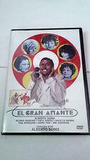 """DVD """"EL GRAN AMANTE"""" ALBERTO SORDI SILVANA MANGANO"""