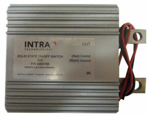 Solid State On/Off Switch with LED Indicator - 24v - (Intra 8000159) Old Stock!
