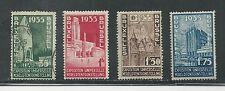 Belgium # 258-261 Mint/Used Brussels International Exhibition