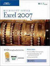 Microsoft Excel 2007: Basic [With 2 CDROMs] (ILT) by Axzo Press
