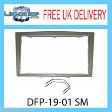 DFP-19-01/SM OPEL Corsa Silver Metallic Fascia Facia Adaptor Panel + PC5-110