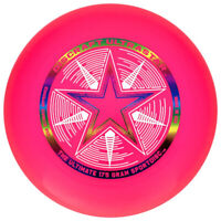 Discraft Ultra-Star 175g Ultimate Frisbee Disc - Pink