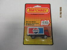 VINTAGE MATCHBOX DODGE DELIVERY TRUCK PEPSI IN THE PACKAGE