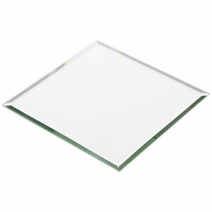 Plymor Square 3mm Beveled Glass Mirror, 5 inch x 5 inch (Pack of 24)