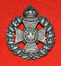 British Army. Rifle Brigade Genuine Officer's WW1 Pagri Cap Badge
