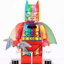 Limited Edition Custom Made Rainbow Batman Superheroes Mini Figure Lego