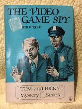 Tom & Ricky Mystery 1 Series The Video Game Spy 1982 Paperback (B68)