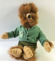 "Universal Studios Monsters 1999 Plush Wolfman 9"" Halloween Decoration Gift"