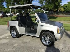 2015  ACG SILVER Cadillac Escalade LSV 4 Passenger STREET LEGAL Golf Cart Car