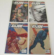 LOT OF 4 GI JOE ORIGINS COMIC BOOKS #1 2 3 4 IDW
