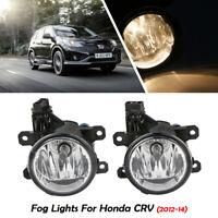 Paire de feux de brouillard Pour Honda CRV Car 2012-2014 Lampe de conduite Spot