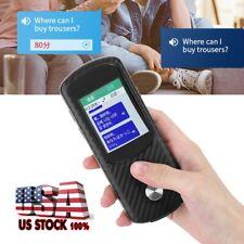 Portable Smart Wifi Translator Voice Global Dialect Travel Real Time Translator