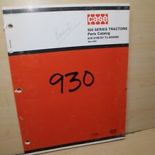 Case 930 Comfort King Tractor Spare Parts Manual Book Catalog List Lp Gas Diesel