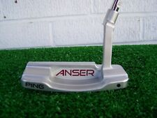 "Ping Golf ANSER Milled 0 Floating Face 35"" Slight Arc Putter LEFT HAND NEW LH"