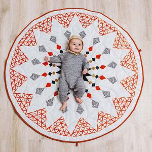 Pattern Floor Carpet Baby Cotton Crawling Play Mat Kids Room Blanket Eager