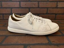 Cole Haan Grand OS White Leather Sneakers Size 11