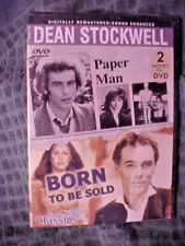 Paper Man - Born to Be Sold (DVD, double feature) - NEW Dean Stockwell