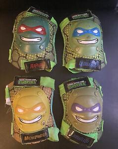 Nickelodeon Teenage Mutant Ninja Turtles 3D Knee + Elbow Pad Set