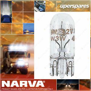 Narva Wedge Globe 12V 5W W2.1 X 9.5D T-10mm 47501BL for audi Premium Quality